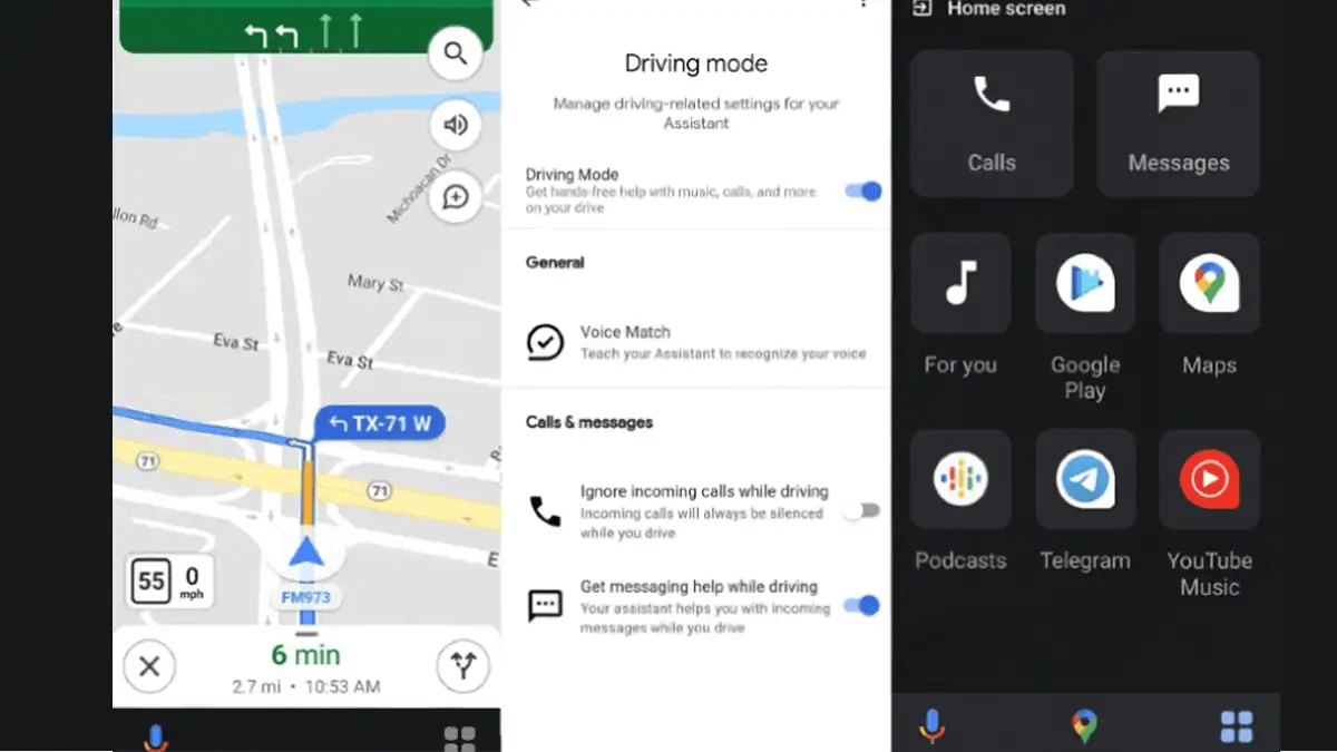 Google Assistant Driving Mode for Maps Spotted on Android Devices