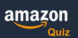 Amazon Quiz Answers For November 13