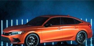 2022 Honda Civic revealed in prototype form