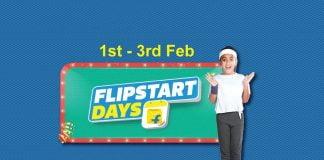 Flipkart Flipstart Days sale is now live and will go on till December 3